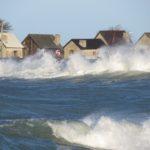 Stormigt i hamnen. Foto Antonia Baumert.